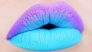 30 Easy DIY Lipstick Tutorial and Lip Art Ideas to Do at Home