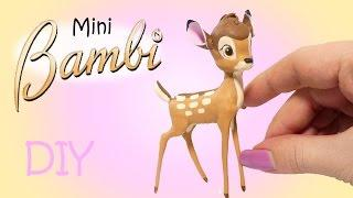 Disney's Bambi Inspired Tutorial // Miniature DIY + NEW CHANNEL