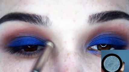 Blue Vibe Makeup Tutorial