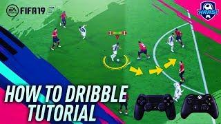 FIFA 19 DRIBBLING TUTORIAL - THE SPEED DRIBBLING - MOST EFFECTIVE FACE UP DRIBBLING - HOW TO DRIBBLE