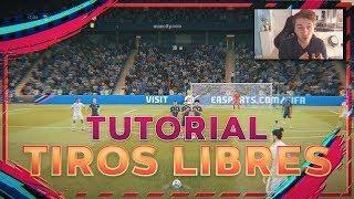 FIFA 19 Tiros Libres TUTORIAL - Los Mejores Tiros Libres Lejanos - Free Kick Tutorial