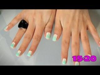 Tutorial: Efecto difuminado en tus uñas