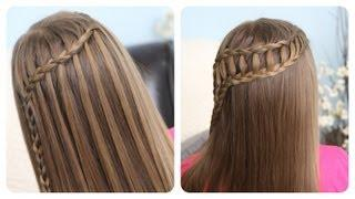 Feather Waterfall&Ladder Braid Combo | Cute 2-in-1 Hairstyles