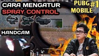 TUTORIAL SPRAY CONTROL & CARA MENGAPLIKASIKAN GYROSCOPE KEDALAM GAMEPLAY - PUBG MOBILE INDONESIA