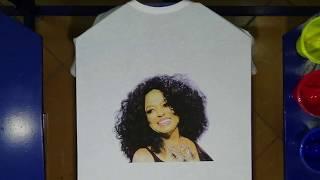 CMYK Silk Screen Printing Tutorial ✅ DIY T-shirt Printing Method | Diana Ross