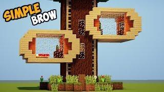 MINECRAFT : Tutorial Cara Membuat Rumah Pohon !