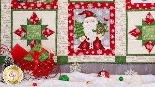 How to Make the Winter Greetings Quilt | A Shabby Fabrics Sewing Tutorial