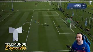 "Tutorial para ejecutar el ""Timed Finishing"" perfecto en FIFA 19 | eSports | Telemundo deportes"