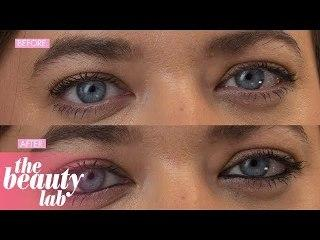 Trying Kat Von D Lash Liner Eyeliner | Review & Tutorial | Beauty Lab | Cosmopolitan UK