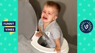 TRY NOT to LAUGH or GRIN: Funny Kids Fails Compilation 2017 | Funny Vines Videos