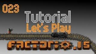 Factorio Alpha .15 Tutorial Let's Play Episode 023 - Timmy's First Train!