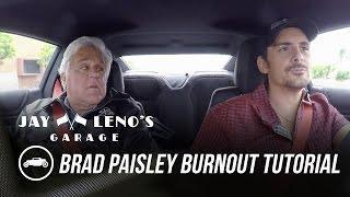 Jay Leno Gives Brad Paisley a Burnout Tutorial in the 2017 Chevrolet Camaro ZL-1 - Jay Leno's Garage