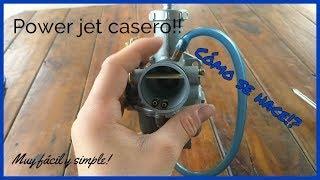 """¿Como Hacer un Power Jet Casero? MUY FÁCIL!! """"Tutorial""""    RamiiStunt"""