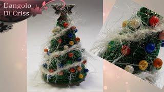 Albero di Natale segnaposto fai da te