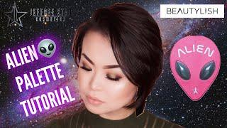 JEFFREE STAR COSMETICS | ALIEN PALETTE TUTORIAL