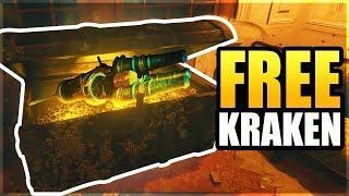Voyage of Despair FREE KRAKEN TUTORIAL How To Get A Free Kraken (Black Ops 4 Zombies)