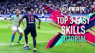FIFA 19 | TOP 3 EASY SKILL MOVES Tutorial [PS4/XBOX ONE]