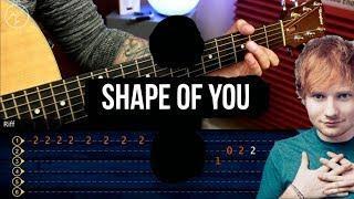 Ed Sheeran - Shape of You Guitar Tutorial | TABS + ACORDES | Guitarra Christianvib