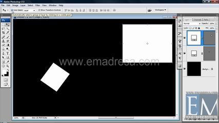 Move Tool Photoshop Basic Urdu Hindi  Tutorials By Emadresa