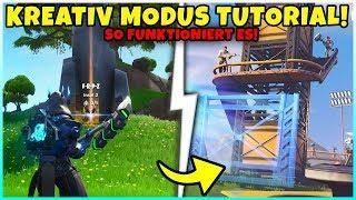 So funktioniert der Kreativmodus! (TUTORIAL) - Das musst du WISSEN! - Fortnite Season 7 Battle Pass
