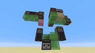 2-Way Flying Machine w/Vertical Launcher -- Minecraft Tutorial