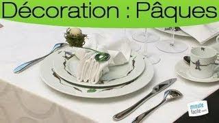 Réaliser Une Forme De Nid Pour Une Table De Pâque