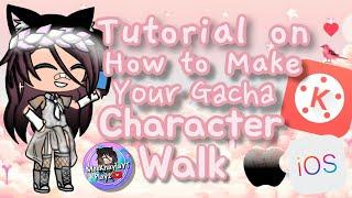 How to Animate Walk a Gacha Character | Gacha Life Basic Editing Tutorial Video
