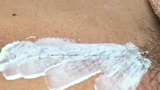 HOW TO:STOMACH WAX HAIR REMOVAL TUTORIAL