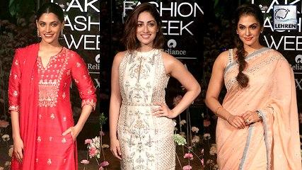 Lakme Fashion Week 2019 Day 3 | Evelyn Sharma, Yami Gautam, Sayani Gupta