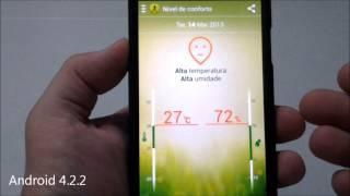 Galaxy S4 - Android 4.2.2 - Gerenciador De Atividade Física S Health - Tutorial Português Brasil