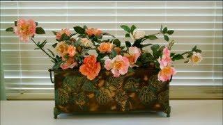 How To Make Floral Arrangements - Part 4 - Floral Decoration, Interior Design, Home Decoration