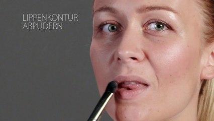 Beauty-Tutorial: Lippenstift auftragen