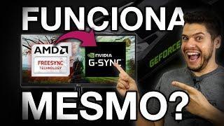 TUTORIAL: COMO ATIVAR FREESYNC em NVIDIA GTX 10 e RTX 20. GSYNC em MONITOR FREESYNC FUNCIONA MESMO?