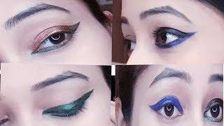 Quick Eyeliner tutorial|सबसे आसान तरीका wing eyeliner लगाने का|BE NATURAL