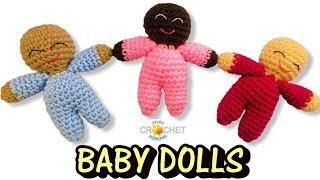 Happy Baby Doll Crochet Pattern & Tutorial