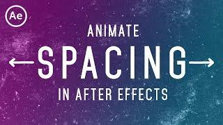 Animated Text Spacing | After Effects Tutorial