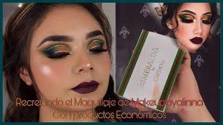 Makeupbyalinna | paleta esmeralda | expectativa vs realidad