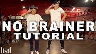 NO BRAINER - Justin Bieber & Chance The Rapper Dance Tutorial | Matt Steffanina Choreography