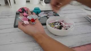 6x6 Paper | Paper Fan Embellishment | Mini Envelopes | WRMK | Envelope Punchboard | TUTORIAL