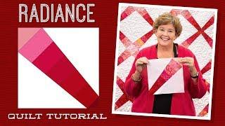 "Make a ""Radiance"" Quilt with Jenny Doan of Missouri Star Quilt Co (Video Tutorial)"