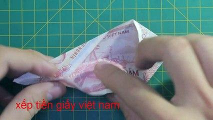 money origami tie tutorial how to make