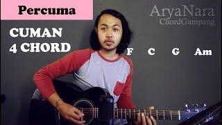 Chord Gampang (Percuma - DXH CREW) by Arya Nara (Tutorial Gitar) Untuk Pemula