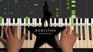 Hamilton - Alexander Hamilton (Piano Tutorial Lesson)