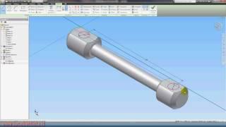 Inventor Autodesk Tutorial 2/parte1 - Lucabattista.it