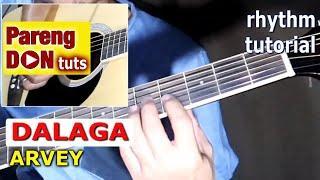 DALAGA ARVEY guitar tutorial with chords