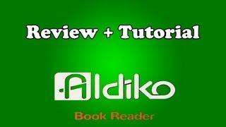 Como Instalar Livros No Aldiko (em Português) + Review - Tutorial #3