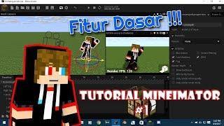 Cara Membuat animasi Dari Mineimator   Tutorial Mineimator Part #1