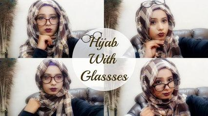 Hijab Tutorial With Glasses--Fashion With Modesty