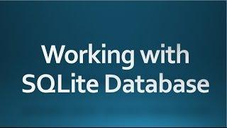 Android Tutorial For Beginners 60 Working With Android Sqlite Database
