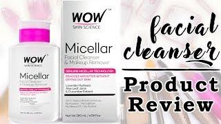 WOW Micellar Facial Cleanser | Review Tutorial | Skincare Tutorial | Foxy Makeup Tutorials